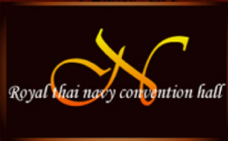 Royal thai navy convention hall banner